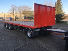 drop side full trailer Samro RT26WJ - 3 As Vrachtwagen Aanhangwagen Open, NL kenteken 2008