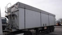 tipper semi trailer Benalu 60 m³ kipper (blad)steelsuspension 1997