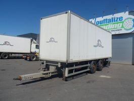 closed box trailer Samro fourgon / box 2010