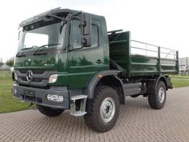 drop side truck Mercedes-Benz Atego 1317-A 4x4 - Euro 2 - Flatbed - RHD - NEW