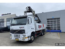 crane truck Volvo FH12-420 Day Cab, Euro 1, // Palfinger PK14000 // 6X4 // Manual gearbox 1996