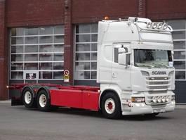 swap body truck Scania R620 Topline 6x2 - Show truck - Manual gearbox - Full air - Retarder - Full spec!! 2013