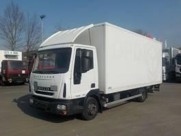 closed box truck Iveco EuroCargo 75E18 2013