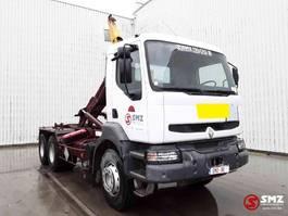 container truck Renault Kerax 340 manual pump 1998