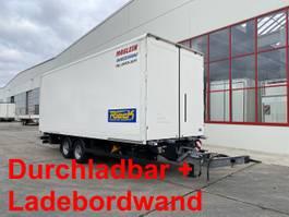 closed box trailer Möslein TKO 105 DL Schwebheim  Tandem Koffer, LBW1,5 t + Durchladbar 2017