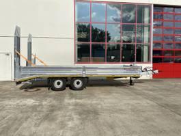 lowloader semi trailer Möslein TT 11,9- 6,2 Stahl- Boden  Neuer Tandemtieflader, 6,20 m Ladefläche, Stahl 2021