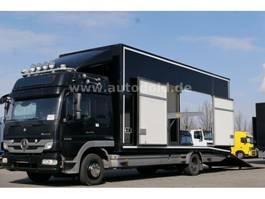 car transporter truck Mercedes-Benz Atego 1229 Autotransporter Seilwinde Kamera E5 2013