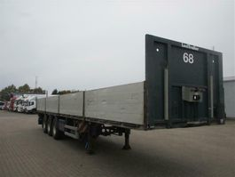 flatbed semi trailer Lecitrailer 3 aks trailer 2013