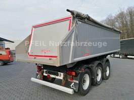 tipper semi trailer Langendorf SKA 24/30 Kippmulde Stahl-ALU- BPW-Schütte 2013