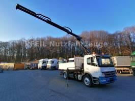 tipper truck > 7.5 t Mercedes-Benz Atego 16-29 - Dreiseitenkipper- Palfinger PK 8501 2011