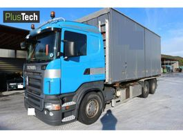 container truck Scania R420 2004
