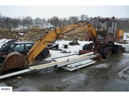 wheeled excavator Case 688P wheel machine repair object 1990