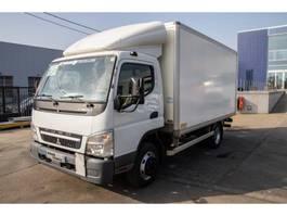 closed box truck Mitsubishi FUSO (7.5t) + DHOLLANDIA 2012
