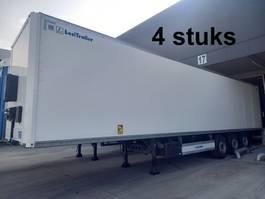 closed box semi trailer Lecitrailer Box-oplegger - 4 stuks - 1 jaar oud