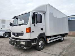 closed box truck Nissan Atleon 4x2 Euro 4 - Laadbak 5.15m + laadklep 750 kg - 48.000km Origineel! (V342) 2008