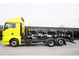 container truck MAN TGX 26.460 XLX , E6 , 6x2 , NEW HOOK HYVA 20t ,lift axl 2018