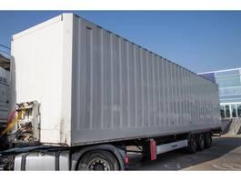 closed box semi trailer Krone CAISSE FOURGON - ACIER/STEEL 2010