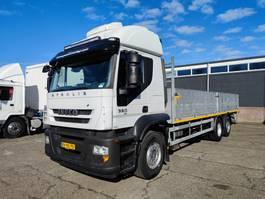 platform truck Iveco Stralis 260 AT260S36Y/PS 6x2/4 Euro 5 - OpenlaadBak met Borden 7,90M - 10/2021 APK (... 2008