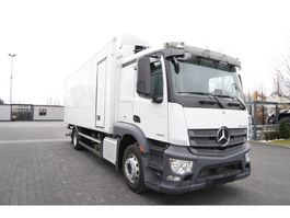 refrigerated truck Mercedes-Benz Actros 1840 , E6 , 4x2 , 150.000km , 18 EPAL , tail lift , side 2016