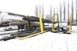 Autotransporter Lastkraftwagen Lohr Body + trailer set , for 8-12 cars 2008