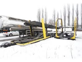 car transporter truck Lohr Body + trailer set , for 8-12 cars 2008