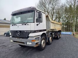 tipper truck > 7.5 t Mercedes-Benz Actros 4140 8x4 spring suspension Manual gearbox big axles!!