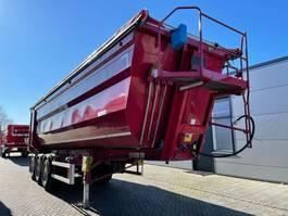 tipper semi trailer Kempf Hardox tipper trailer 45m3 39A10 2015