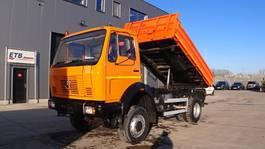 tipper truck > 7.5 t Mercedes-Benz SK 1213  (LAMES / STEEL SUSPENSION / 4X4 /POMPE MANUELLE / MANUAL PUMP) 1989
