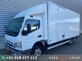 closed box truck Mitsubishi Canter 6C18 / Manual / Tail Lift / 2 Doors / NL Truck 2009