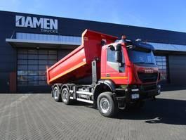 tipper truck > 7.5 t Iveco TRAKKER 410 6x6 Euro 6 Kipper/Trekker 2015