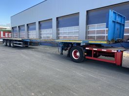 drop side semi trailer Nooteboom OVB-42-03V - 21.35 Mtr. - Power steered- / Gelenkt. ABS, Central Lubrication 2000