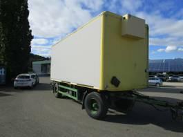 closed box trailer Ackermann 2-Achs ISOLIER-Anhänger ACKERMANN LBW BÄR 1,5 T 2004