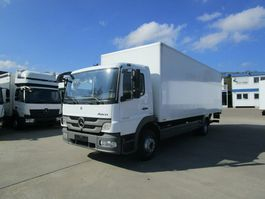 closed box truck Mercedes-Benz Atego 1222 L Koffer 7,20 m LBW 1,5 T*Diff.Sperre 2012
