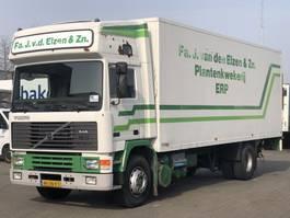 closed box truck Volvo F10 INTERCOOLER CLOSED BOX 1990