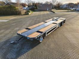 flatbed full trailer GS Meppel AV-3000 P  -  NIEUW  -  PORTAALARM AANHANGWAGEN 2021