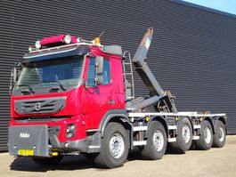 container truck Volvo FMX 460 10x4 / 35.000 KG HAAKARM / HOOKLIFT 2011