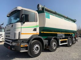 tank truck Scania R124-420 R124.420 MENCI-Silo 34cbm 2000