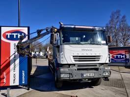 crane truck Iveco AD260T35 Trakker 6x4 |  Copma crane 2000-150.5SC  | Manual | Fullsteel + Big Axles 2006