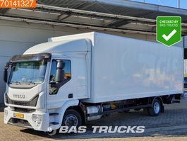 closed box truck Iveco EuroCargo 120 -210 4X2 12 Tons NL-Truck Ladebordwand Euro 6 EuroCargo 2016