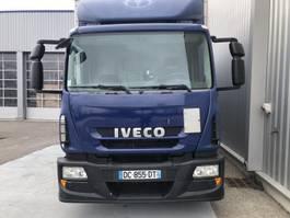 closed box truck Iveco Eurocargo 2014