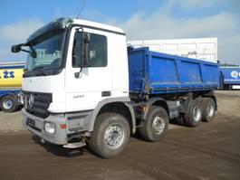 tipper truck > 7.5 t Mercedes-Benz Actros 3241 K, 8x4, Dreiseiten kipper 2007