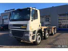 chassis cab truck DAF CF 85.380 Day Cab, Euro 3, // Full steel // Bix Axle // 8x4 // Service History 2003