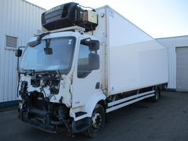 refrigerated truck Renault Midlum 220 DXI , Engine damage , reefertruck , Manual , Spring suspension 2011