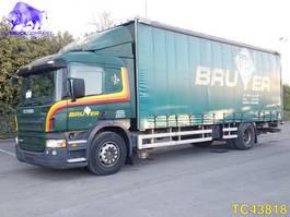 sliding curtain truck Scania P230 Euro 4 2007