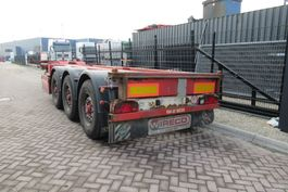 container chassis semi trailer Renders EURO 800 / 2X Extendable / BPW + Disc 2008