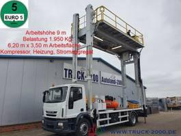 mounted boom lift truck Iveco 190E25 Spezial 2t.Arbeitsplattform 9mArbeitshöhe 2011