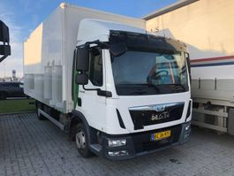 closed box truck MAN TGL 8.180 2014