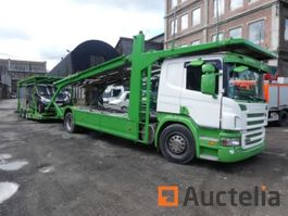 car transporter truck Scania P380 2007