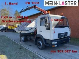 Kipper < 7.5 tonnen MAN 8.180 Meiller PK7001 7,3 m-860 kg 5+6 St.kreis 2004