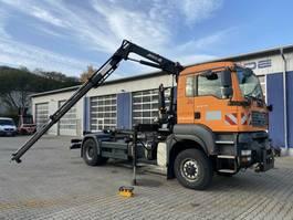 container truck MAN TGA 18.350 4x4 Abrollkipper + Kran *Winterdienst 2007